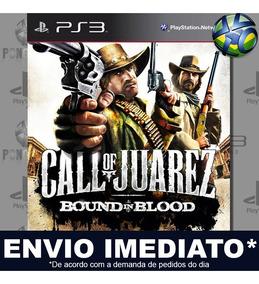 Jogo Call Of Juarez Bound In Blood - Envio Agora Código Psn