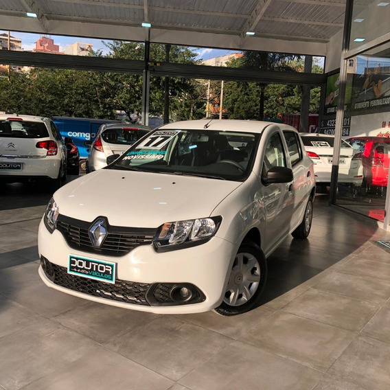 Renault Sandero 1.0 Authentique Flex Manual 2017 Sandero 17