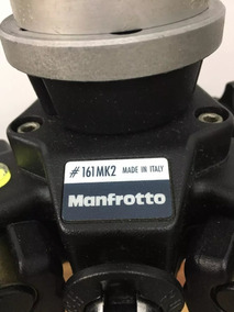 Tripé Manfrotto Profissional #161mk2 - #029mk2 Made In Italy