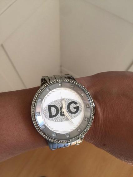 Relógio Dolce & Gabbana Original Unisex Prata