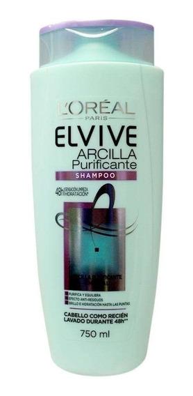 Shampoo Elvive Arcilla 750 Ml.