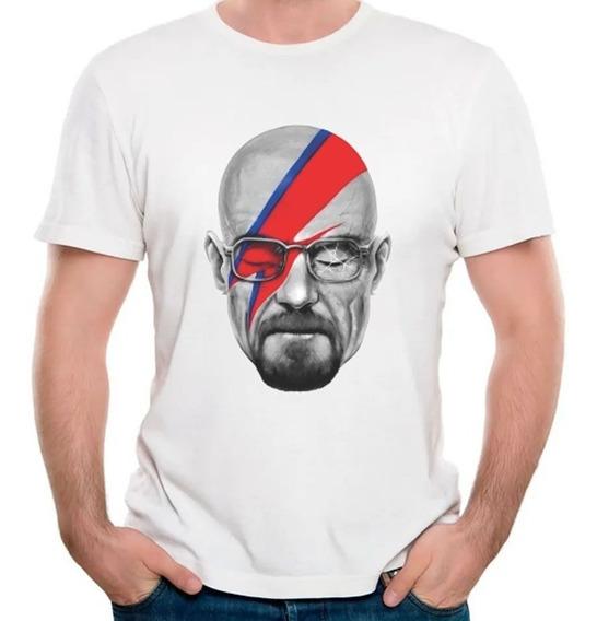 Camisetas Masculinas Breaking Bad Walter White Heisenberg