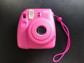 Câmera Instax Mini 8 Rosa Pink - Fujifilm Como Nova!
