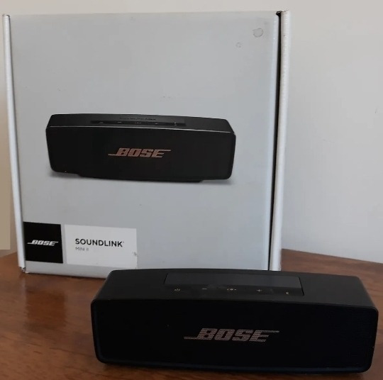 Promoção Caixa De Som Bose Soundlink Mini Ii Original