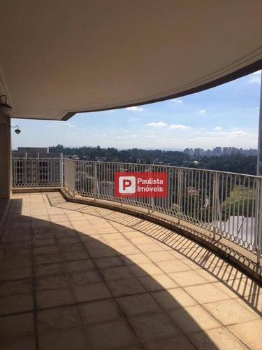 Apartamento Residencial À Venda, Panamby, São Paulo. - Ap22388