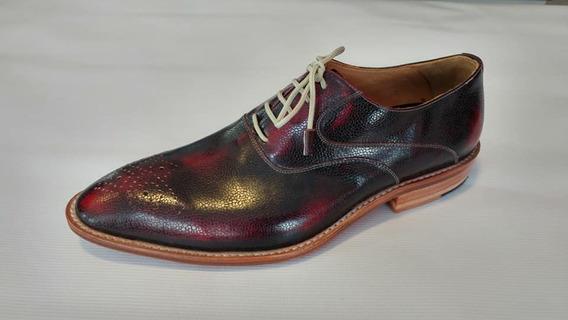 Zapato Vestir Bordo. Silla Argentino. Liquidación 50% Off
