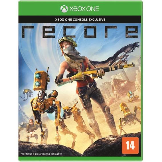 Recore Xbox One Game Midia Fisica Lacrado Português Promoção