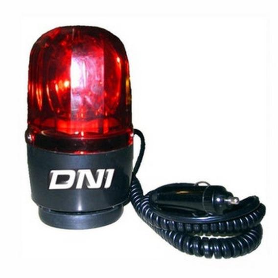 Giroflex Luz De Emergência Sinalizador 24v Vermelho - Dni
