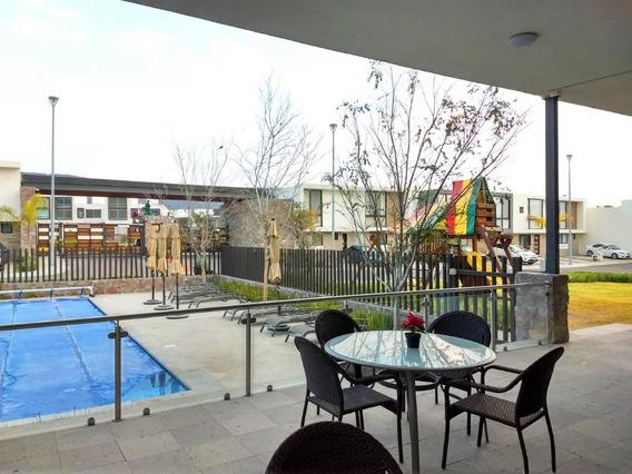 Renta Casa El Refugio Amueblada Privada Alberca 3 Rec