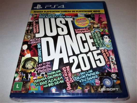 Just Dance 2015! Playstation 4! Novo / Lacrado!!! Sony Ps4!!