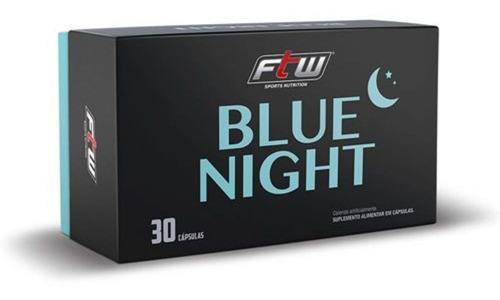Suplemento Do Sono Blue Night Ftw Fitoway Insonia 30 Cáps