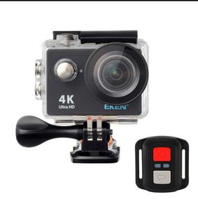 Câmera De Ação Eken H9r 4k Wifi + Controle Original + Case