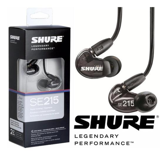 Fone In Ear Shure Se215 Original - Monitor Profissional