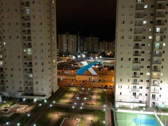 Apartamento Com 2 Quartos Sendo 1 Suíte Na Vila Mogilar, Cond Flex Mogi - Ap5001