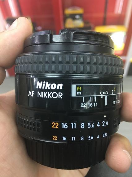 Lente Nikkor Af 28mm F / 2.8d Da Nikon Af 12x Sem Juros