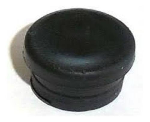 Imagen 1 de 8 de Tapa Tornillo T100 Módena Goma Abertura Aluminio Negro X 100