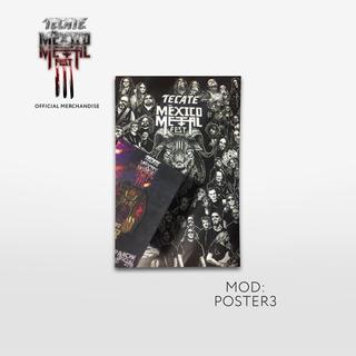 Poster & Parche - Metal 3