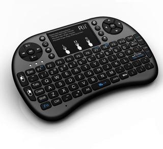 Teclado Mini Inalambrico Rii I8 Touchpad Tv Box Pc Raspberry