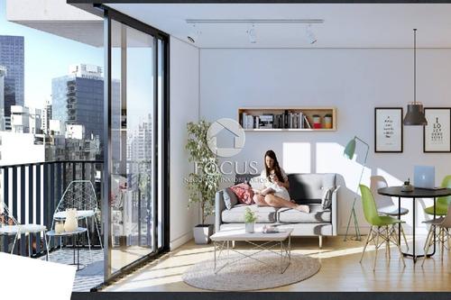 Imagen 1 de 10 de Venta Apartamento Monoambiente Con Terraza - Pocitos
