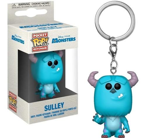 Funko Llavero Sulley Monsters Disney Pixar
