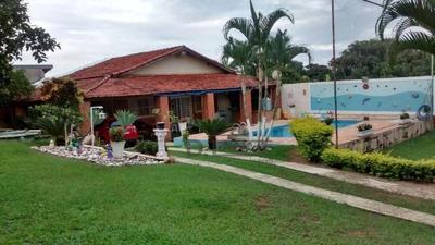 Chácara Com 2 Dormitórios À Venda, 1200 M² Por R$ 550.000 - Jardim Monte Belo - Campinas/sp - Ch0202