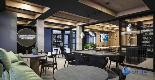 Apartamento Com 3 Quartos À Venda, 87 M² Por R$ 781.000 - Cristo Rei - Curitiba/pr - Ap0274