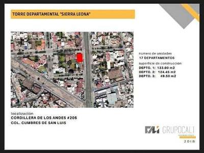 Departamento En Venta En Cumbres De San Luis (torre Sierra Leona)