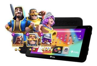 Tablet Para Niños 1gb Taris 8gb Stylos Negra Android 7.1