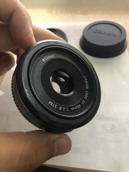 Lente 40mm Canon