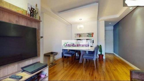 Apartamento À Venda, 70 M² Por R$ 450.000,00 - Vila Vera - São Paulo/sp - Ap5052