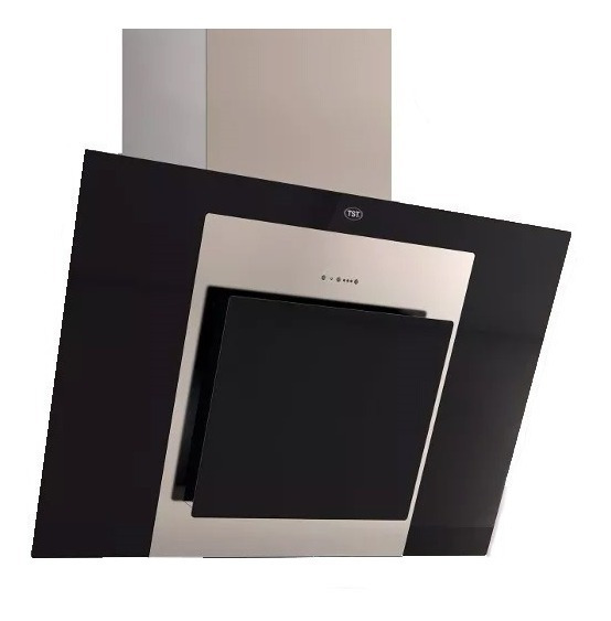 Campana De Cocina Tst Espejo 90 Cm Led Programable 3 Vel Fc