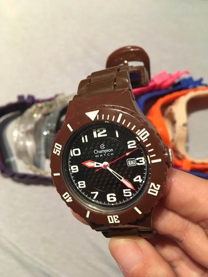 Relógio Champion Troca Pulseiras - Frete Gratis