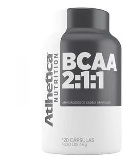 Bcaa 120 Cápsulas - Atlhetica - Recuperação Muscular