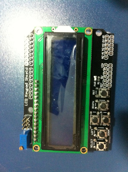 Lcd Keypad Shield Para Arduino