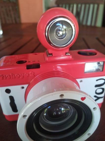 Câmera Fisheye 2 Edição Especial Dia Dos Namorados Da Lomo