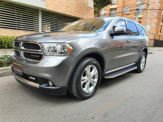 Dodge Durango Sxt 3.600cc A/t 7 Puestos 2013