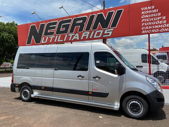 Renault Master 2.3 Executiva 16 Lugares Negrini L3h2 2021