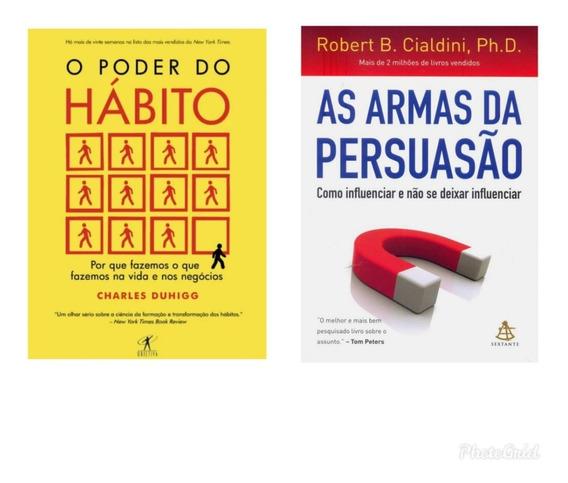 Kit De Livros O Poder Do Hábito+ As Armas Da Persuasão