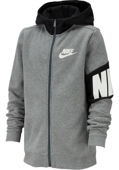 Sudadera Con Cierre Manga Larga Nike Niños Bv3649
