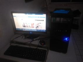 Pc Brasint Completo, Intel Celeron, Com Estabilizador Mieg3