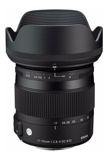 Objetiva Sigma 17-70mm P/ Canon Contemporary F2.8-4 Dc O Hsm