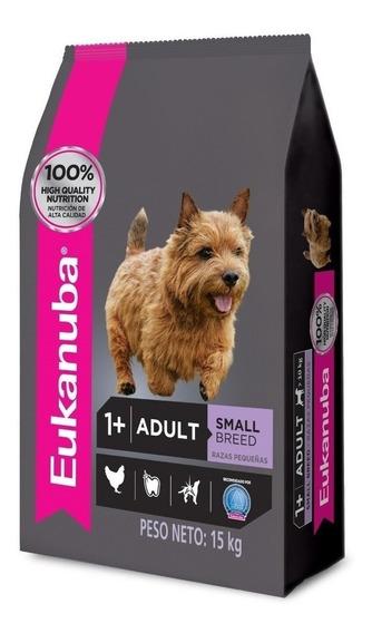 Alimento Eukanuba perro adulto raza pequeña mix 15kg