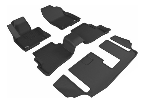 Tapete 3d Maxpider 1ra+2da+3ra Fila Mazda Cx-9 2016-2019