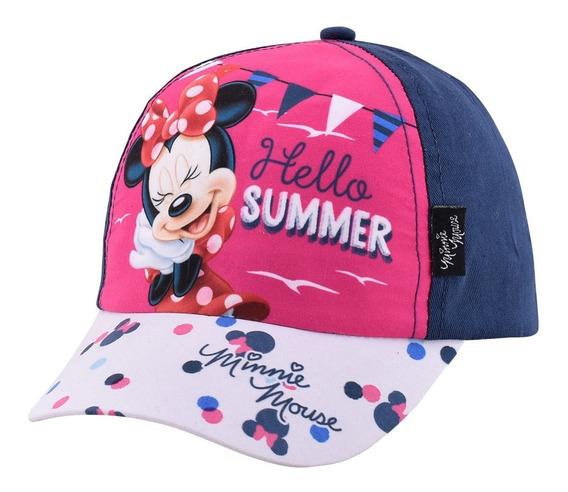 Gorras Gorros Visera Disney Minnie Original Footy Mundomania