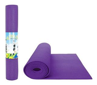 Tapete Para Yoga Mat Ejercicio De 5mm (milímetros) Morado