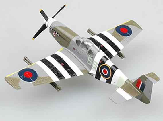 Miniatura Avião P-51b Fz152.1944 Escala 1/72 Easy Model