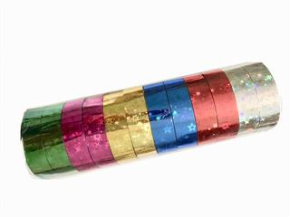 Cinta Adhesiva Decorativa 11mm X 9mts Colores Regalo 12 Pzs