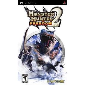 Jogo Monster Hunter Freedom 2 Rpg Game Seminovo Psp Original