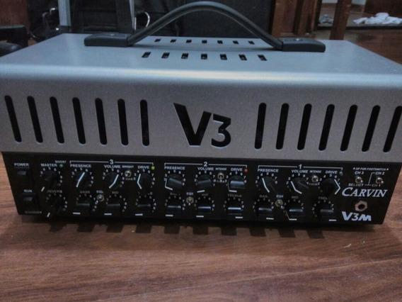 Amplificador 3 Canais Valvulado Carvin V3m + Footswitch+bag