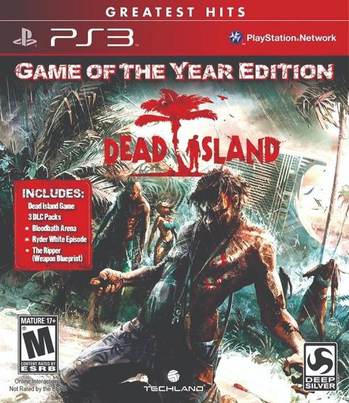 Dead Island Goty Edition! Sem Juros! Loja Campinas